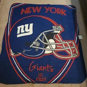 NWOT NY Giants Throw
